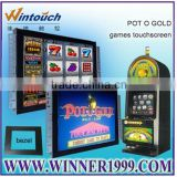 Newest 19 Inch IR Open Frame Touch Screen Lcd Monitor For POG / WMS Gaming machine