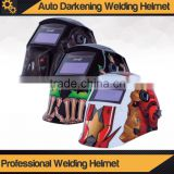Auto Darkening Welding Helmet / 4 detection sensors / dual LCD protection / Transit speed 1/15000 microsecounds                                                                         Quality Choice