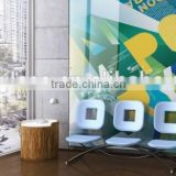 Interior Digital Printing Glass Custom Glass Marble For Sale