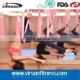 VYH666 Ningbo Virson Wholesale nylon fabric hammock for outdoor camping yoga hammock aerial yoga