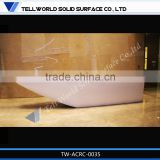 Beautiful Design Boat Shape Elegant style marble hair salon reception desks
