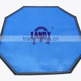 Top quality simple maintenance pvc waterproof bubble plastic swimming pool cover