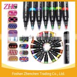16 Color Nail Art Pen Painting Polish Dot Drawing UV Gel Design Manicure Acrylic Paint Beauty Tools Decorations