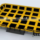 CE certificate gymnastics trampoline bed with foam pit CIT-TP031