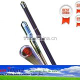 58mm*1800mm three target solar vacuum tube with heat pipe for solar water heater Quality Assured