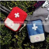 Wholesale Travel Trip Outdoor Mini Medicine First Aid Pouch Emergency & Survival Kits Pack