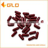 Hot seller regulate blood lipid resveratrol extract hard capsule