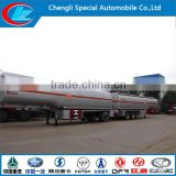 New condition fuel transport trailer 3 Axle fuel tank trailer 35-60cbm Mobile Tanker for sale