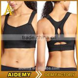 Custom high impact sexy wholesale fitness sports bra athletic yoga wears