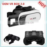 Factory Hot sex video cardboard 3d vr glasses virtual reality equipment vr box with remote bluetooth control