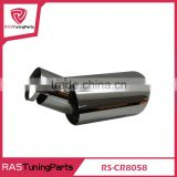 304 Stainless Blue Burned Steel Exhaust Muffler Tip Stainless Steel Pipe For 2009-2012 Volv.o S40