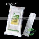 (DJ122-7)Flushable toilet wet wipe