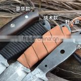 Doshower damascus knife blanks with industrial tool of wholesale knives