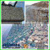 Galvanized/PVC coated/galfan gabion box/gabion basket(manufacturer,factory)
