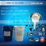 RTV liquid silicone rubber of low viscosity for trademark