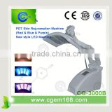 Improve fine lines Cosmetic Led Lamp Skin Rejuvenation Wrinkle Removal LED PDT LED Photon Therapy 630nm Blue