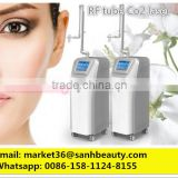 Tattoo /lip Line Removal Beauty Salon Equipment For Sale!! 2016 Coherent RF Tube Fractional Laser CO2 Machine With Vaginal Head Portable