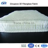 3D E Glass Woven Roving Fiberglass Materials