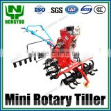 Factory Direct Tiller Cultivator Mini Tiller For Sale Customizable Mini Rotary Hoe 180 Type Diesel Engine 1WG-5