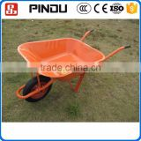 large load capacity garden galvanized tray metal concrete wheelbarrow wb3800 for sale