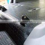 auto car truck rubber round stud coin pattern easy cleaning mat matting floor flooring pad
