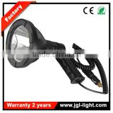 12v high power led searchlight outdoor Portable ABS housing search light hand held LED Rechargeable 10w cree car spotlight