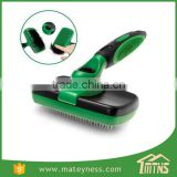 Pet Dog Grooming Hair Self Cleaning Slicker Brush