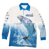 Hot selling cheap fishing shirt, oem outdoor loose style shirts