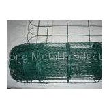 Decorative Wire Border Fence / Arched Top Weaving Ornamental Border Fence