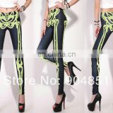 Free shipmentSEXY Fashion 2014 New Fitness Leggins Galaxy Digital Printing Leg LEGGINGS For Women Leggings Drop Shipping S106-34