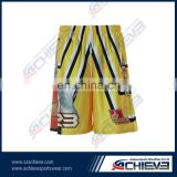 breathable shorts basketball jersey usa custom basketball tops&bottom jerseys 100% polyester sublimation