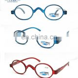 2017spring fashion shape oval frame PC reading glasses