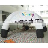 high quality part display cheap domo inflatable customized inflatable tent