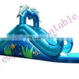 inflatable PVC water slide, commercial inflatable slide,inflatable toys WS032