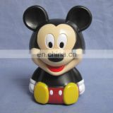 2014 new product Mickey mouse christmas plastic money box