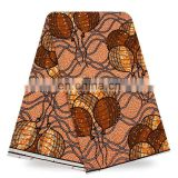 Top sale hollandais wax African Rhinestones wax fabric