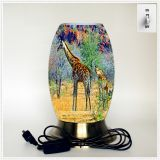 Creative lamp, decorative table lamp, LED desk lamp, South African culture series table lamp (Dzaf033)