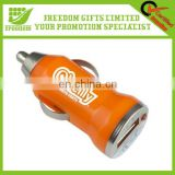Hot Portable Promotional Custom Logo USB Car Charger