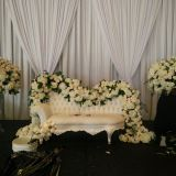 Events pipe drape design for event, party, wedding backdrop wedding use