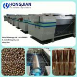 Manual electroplating production line for the rotogravure cylinder