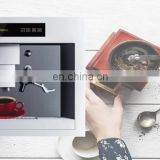 Hot sale 45.5cm automatic Real built in Coffee machine suitable for ground coffee with standby function
