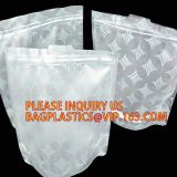 resealable one side clear pouch pharmacy small ziplock pill package zip lock plastic bags pills packaging bag, bagplasti