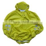 Kids Rain Poncho Non-disposable Raincoat