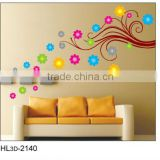 Warm Style Flower Trunk Removable Home Decorative 3D Wall Stickers
