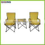 Outdoor Folding Camping Chair With Table Set HQ-5001D                                                                         Quality Choice