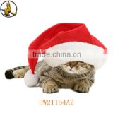 Lovely Big Felt Pet Christmas Santa Hat