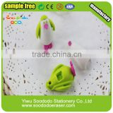 New Design Animal 3D Eraser Packing