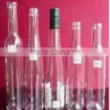 375ml wine bottle glass bottles Fruit vinegar bottle with wine bottle cork rubber sets of