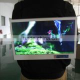"23.6"" backpack wall-mount LCD advertising player/HD lcd digital signage advertising lcd player/lcd media player"