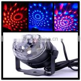 Mini and Delicate Design LED Stage Light Party LED RGB Magic Ball Sound Control for Disco,all kinds of Parties